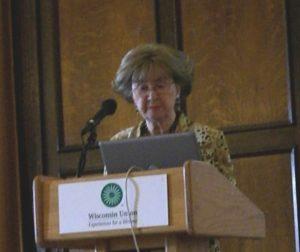 Speaker Mary Bunge