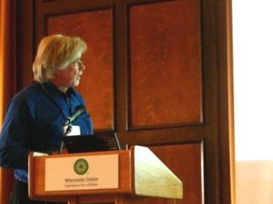Speaker Reggie, Spinal Cord Research Symposium 2007