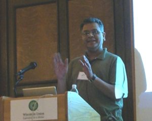 Speaker Kamal, Spinal Cord Research Symposium 2007
